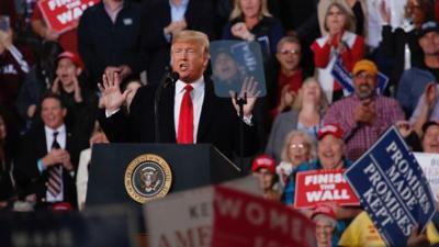 President Trump jokes about Gianforte body slam incident