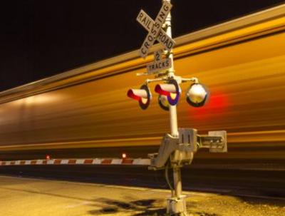 Train, railroad crossing - U.S. Department of Transportation