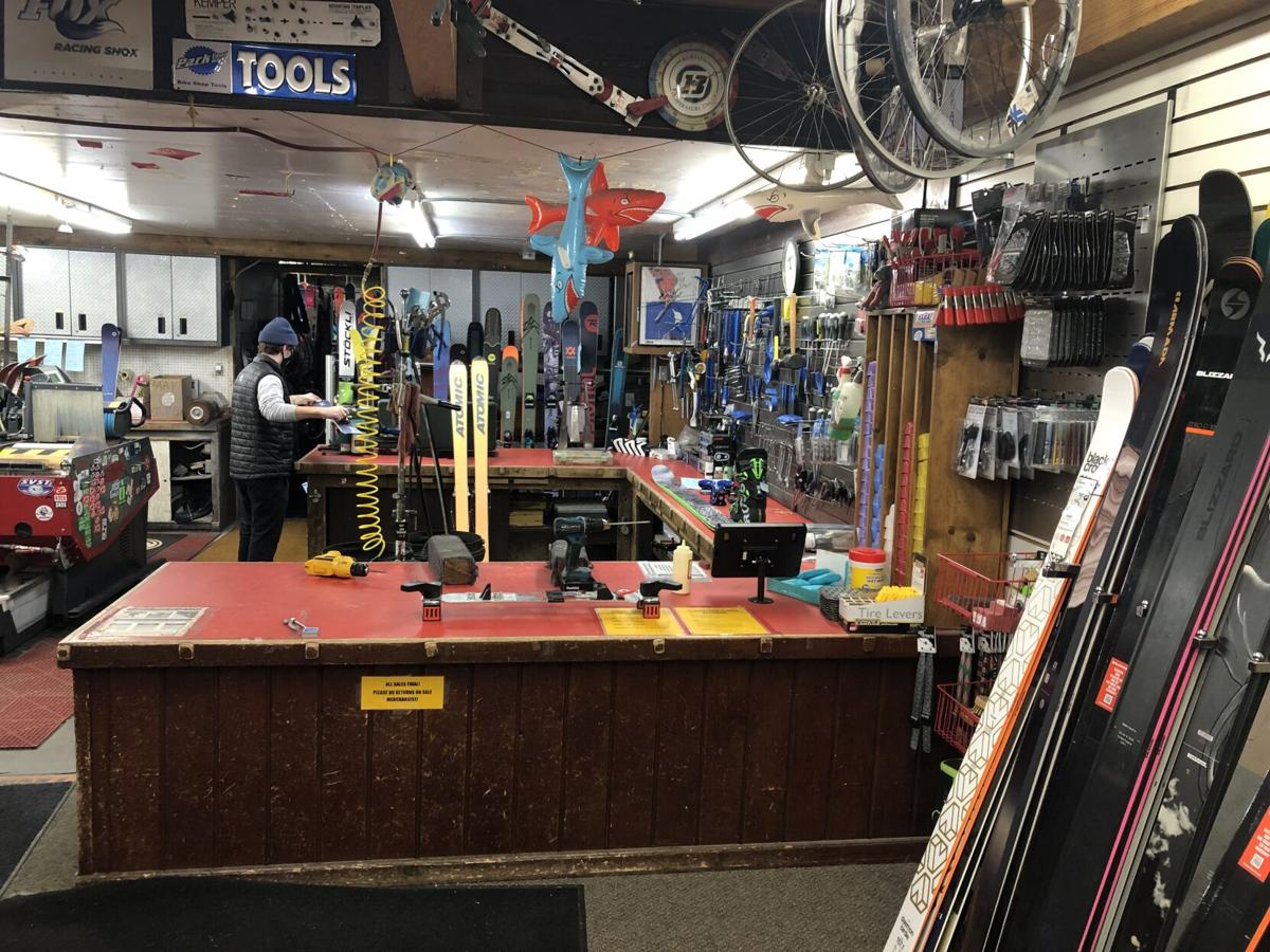 Round House Ski and Sports Center repair shop