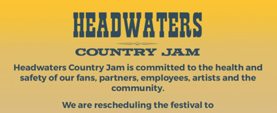 Headwaters Country Jam 2020