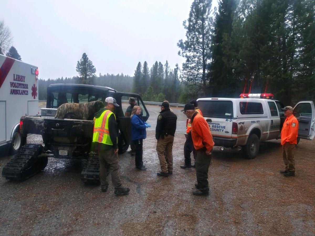 Crews rescue missing man and dog in the Barron Creek drainage