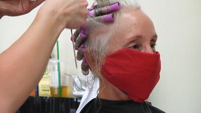 Hair salon COVID times