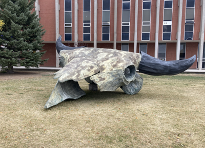 CM Russell High School in Great Falls sees new artwork