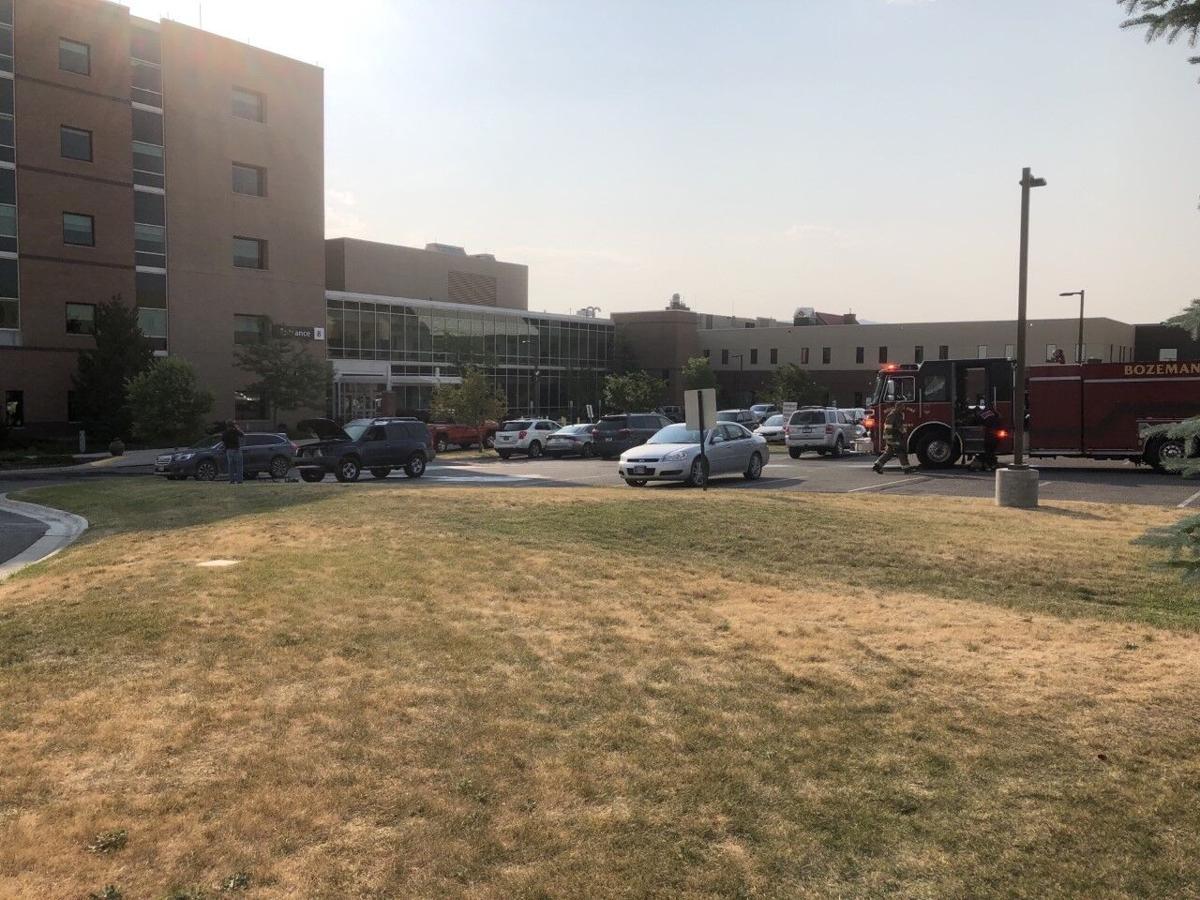 Crews extinguish vehicle fire at Bozeman Health Deaconess Hospital