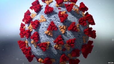 Coronavirus stock image illustration