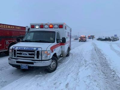 Authorities responding to multi-vehicle crash on I-90 near Bozeman