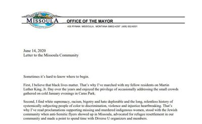 Mayor Letter 06152020