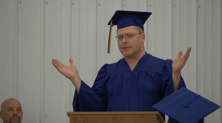 New Stevensville career center graduates first class