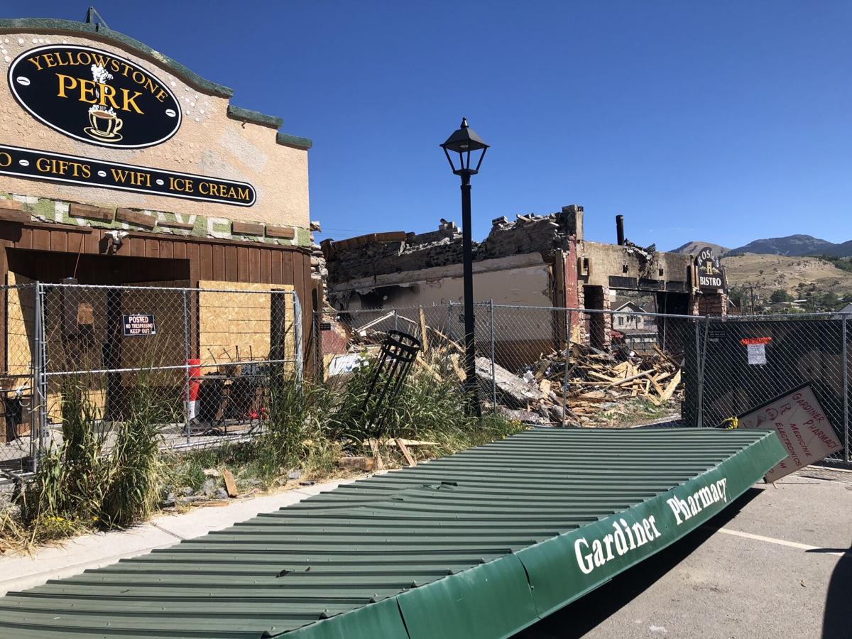 Gardiner business owners wait to rebuild while summer tourist season hits peak