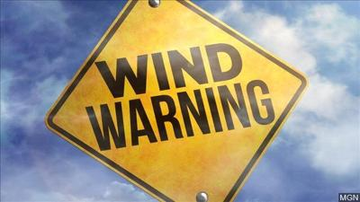 High Wind Warning will impact parts of south central Montana