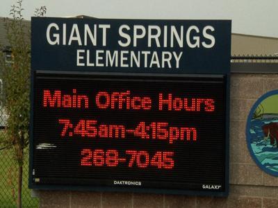 Giant Springs Elementary School