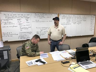 Take a look inside the State Emergency Coordination Center