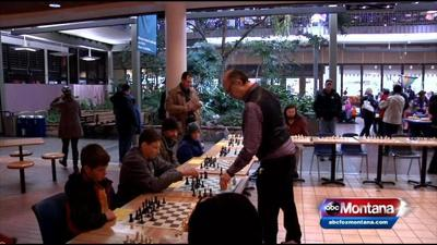 Legendary Missoula Chess Player Takes on Missoula for First Night