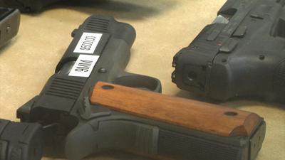 Handgun at Mitchell Supply