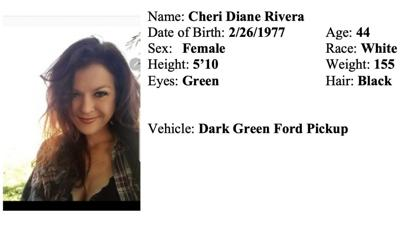 Cheri Diane Rivera is thought to be in danger.