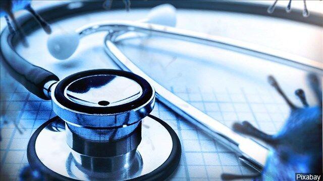 Stethoscope, doctor, healthcare, health, coronavirus graphic