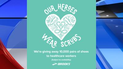 Brooks 10K free shoes for healthcare workers