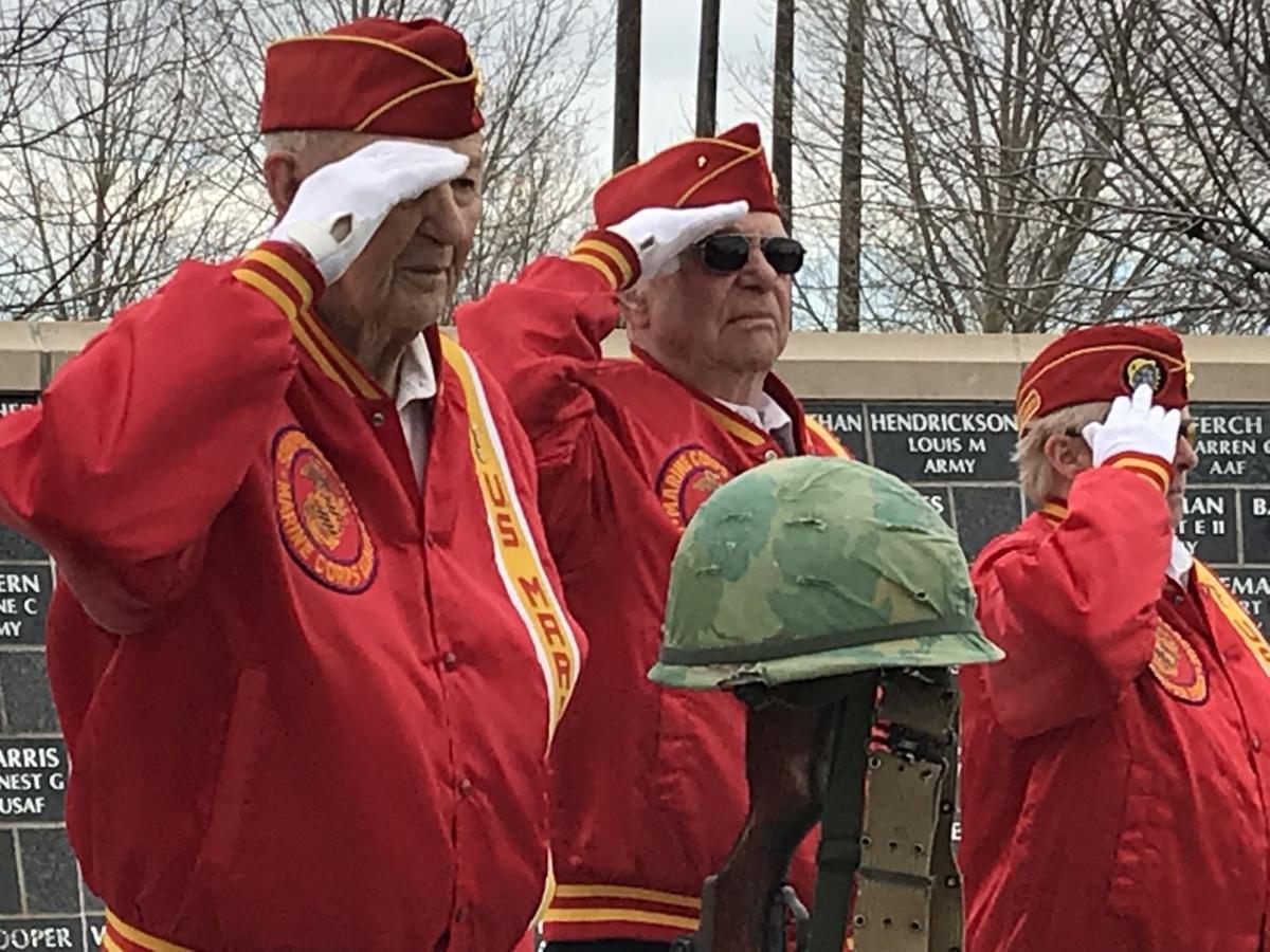 Great Falls Vets Salute Atkins' Memorial