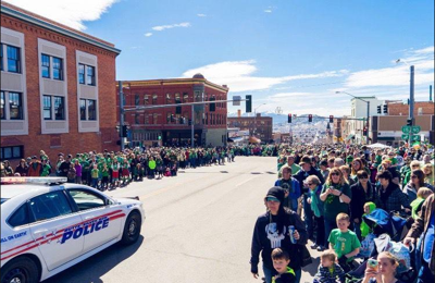 St. Patrick's Day Parade Butte