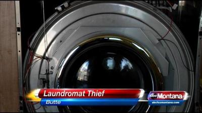 Man Burglarizes Butte Laundromat
