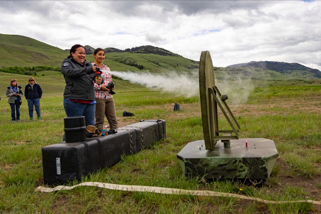 Montana FWP holds bear safety and bear spray training event