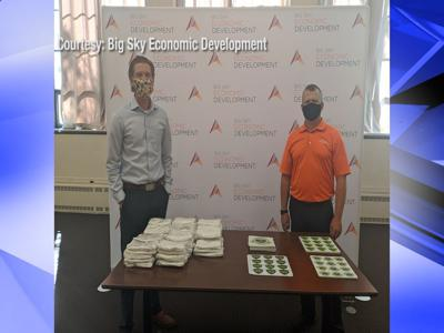 Free mask distribution for businesses