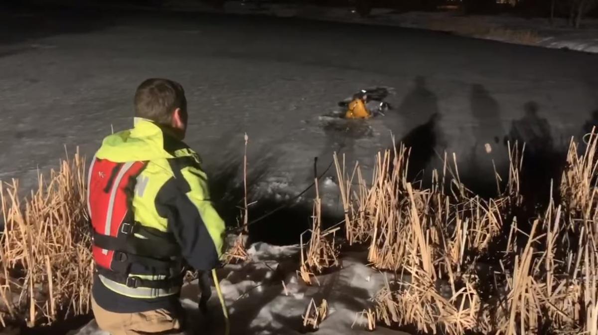 Bozeman fire crew rescue
