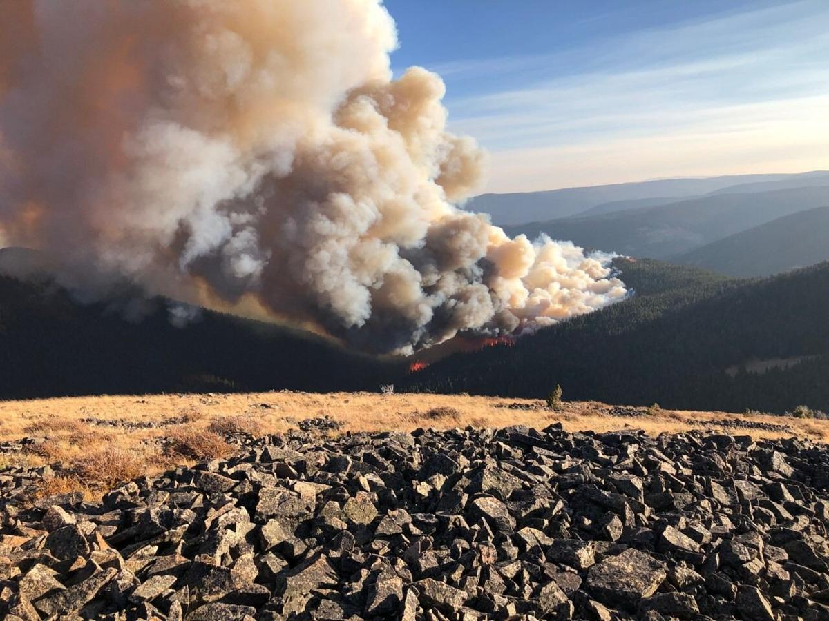 Yogo Fire-- Helena-Lewis and Clark National Forest