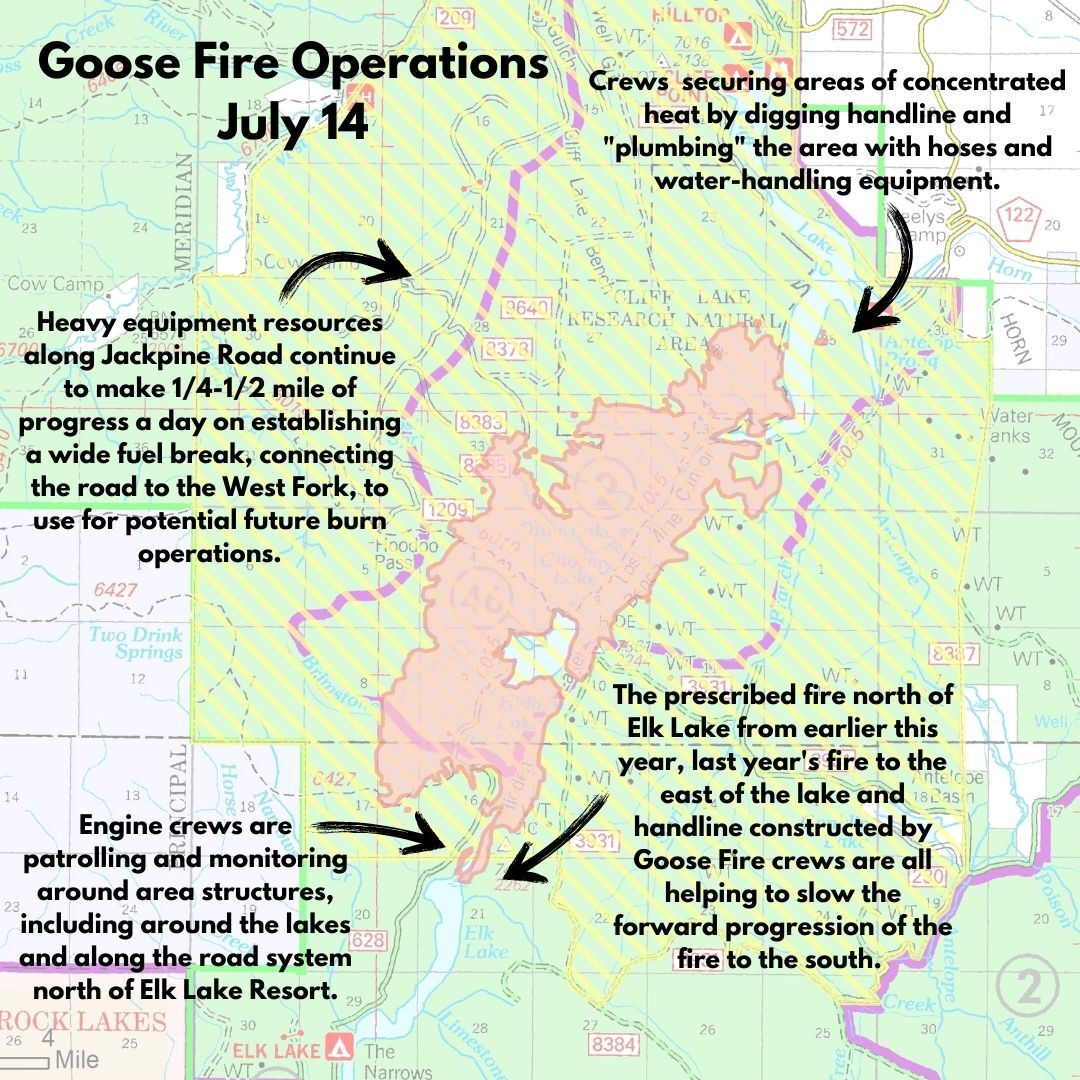 Goose Fire Operations