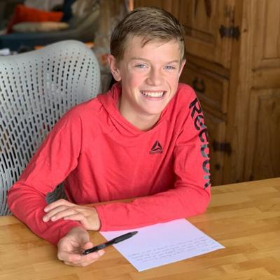 Sacajawea Middle School student starts holiday campaign to write letters to elders