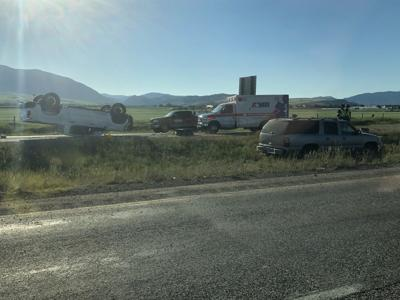 Rollover crash causing blockage on I-90 near Bozeman