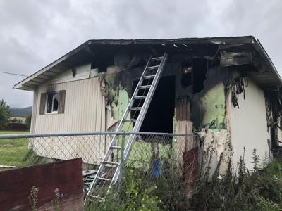 MRFD rescue one person from house fire