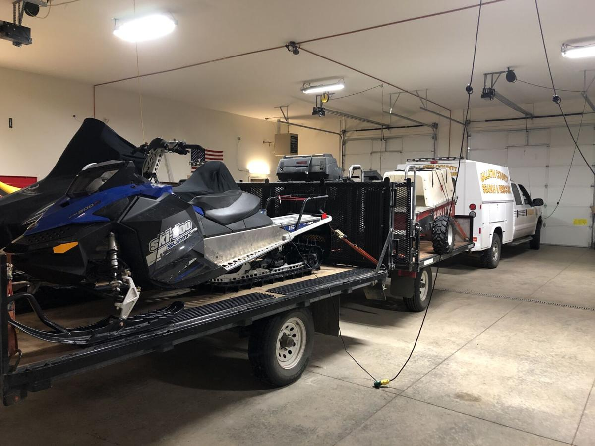 Gallatin County Sheriff Search and Rescue equipment