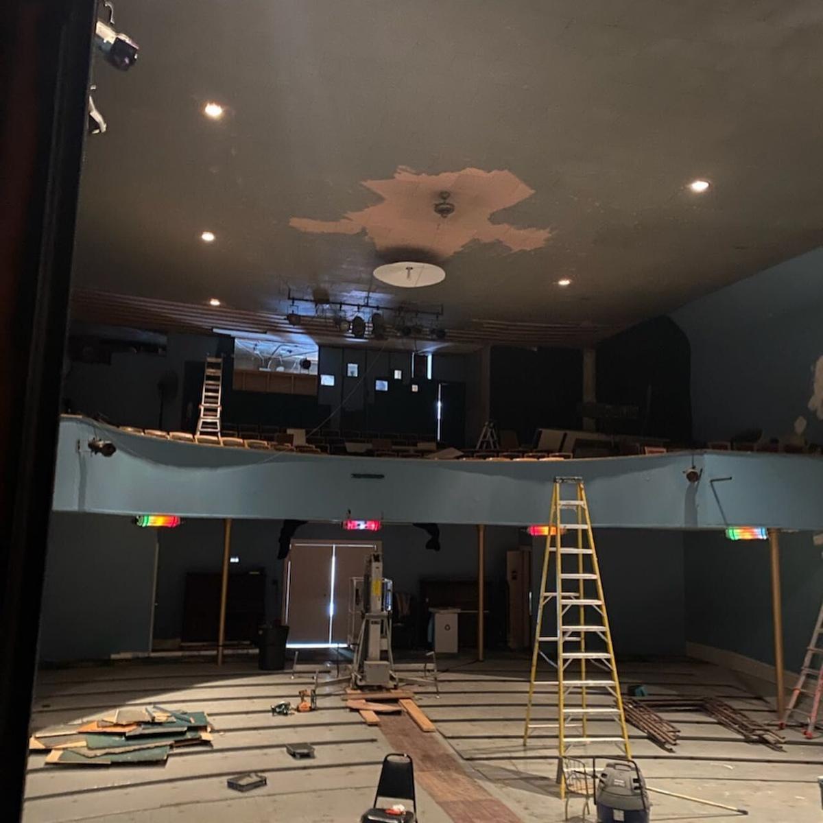Philipsburg Theatre restoration