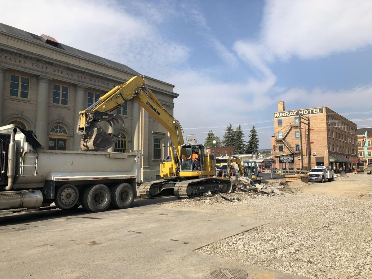 Downtown Livingston's improvement project on schedule to benefit local businesses