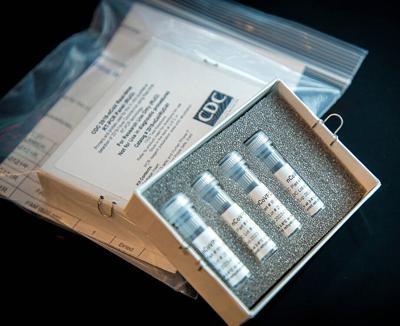 CDC 2019-nCoV Laboratory Test Kit - COVID-19 test - CDC Photo