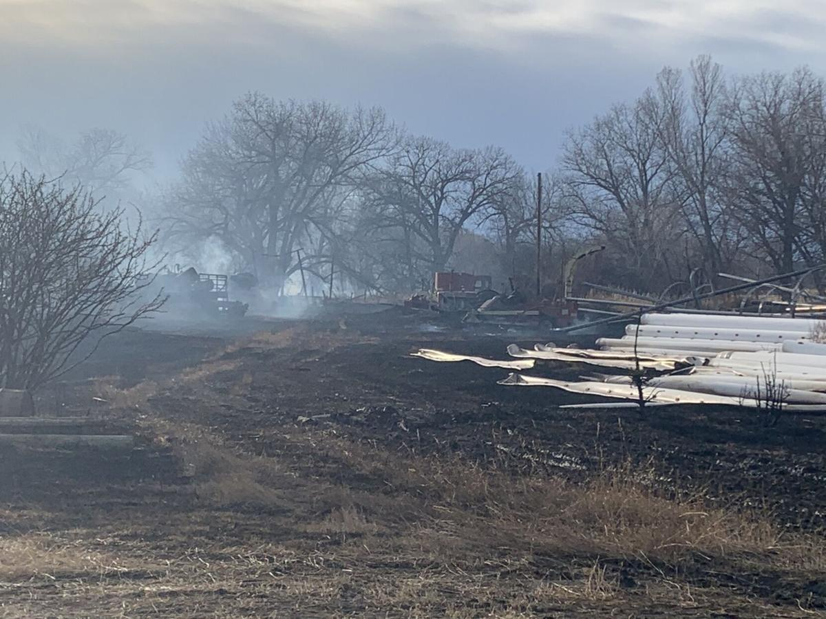 Firefighters respond to fire in Fort Shaw