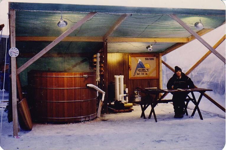Old photo of Mountain Hot Tub