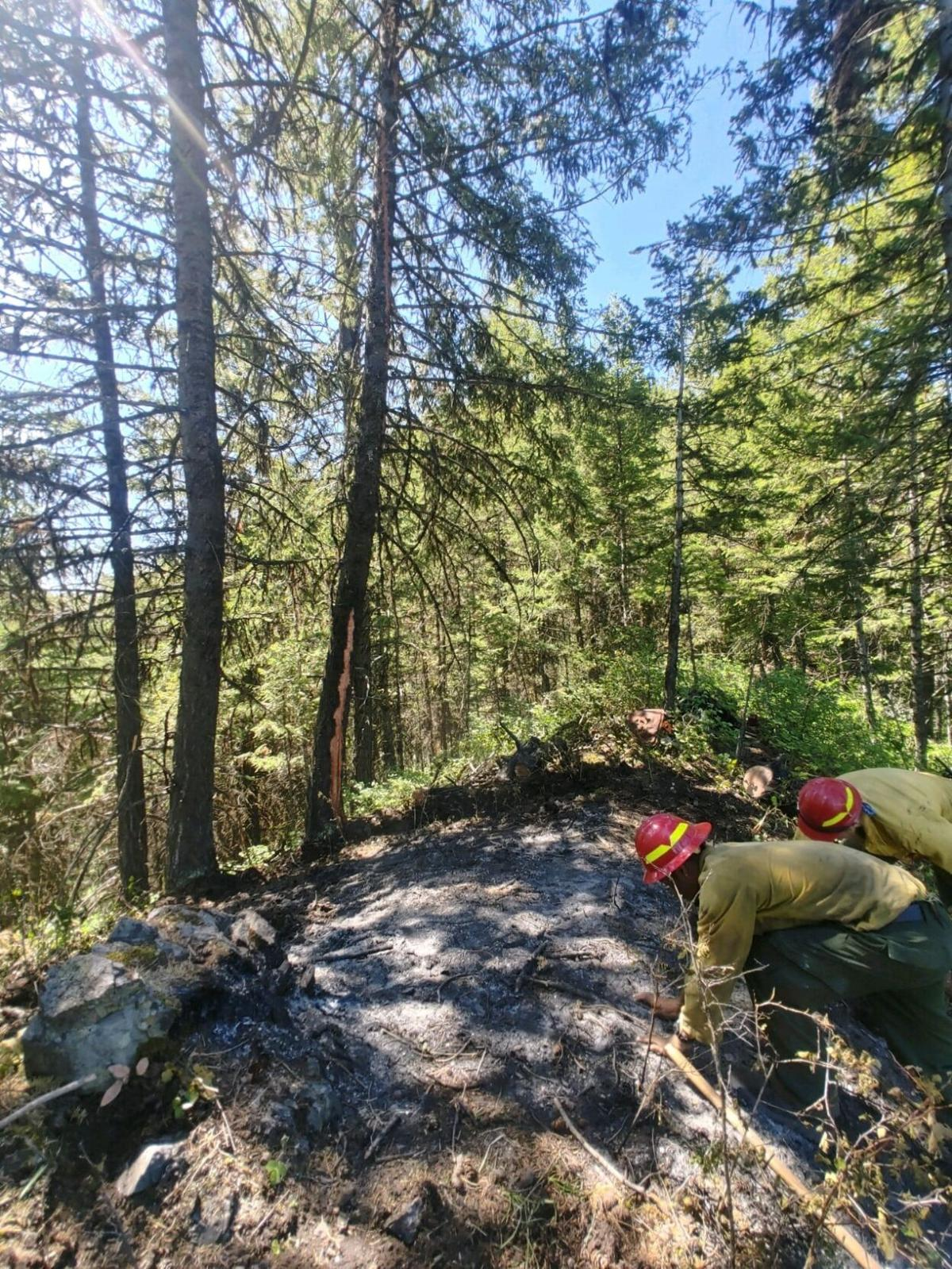 Cherry Creek and Elk Point fires