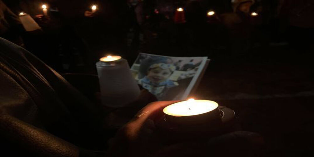 Vigil for Mildred Old Crow