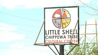 Sign: Little Shell Chippewa Tribe Cultural Center