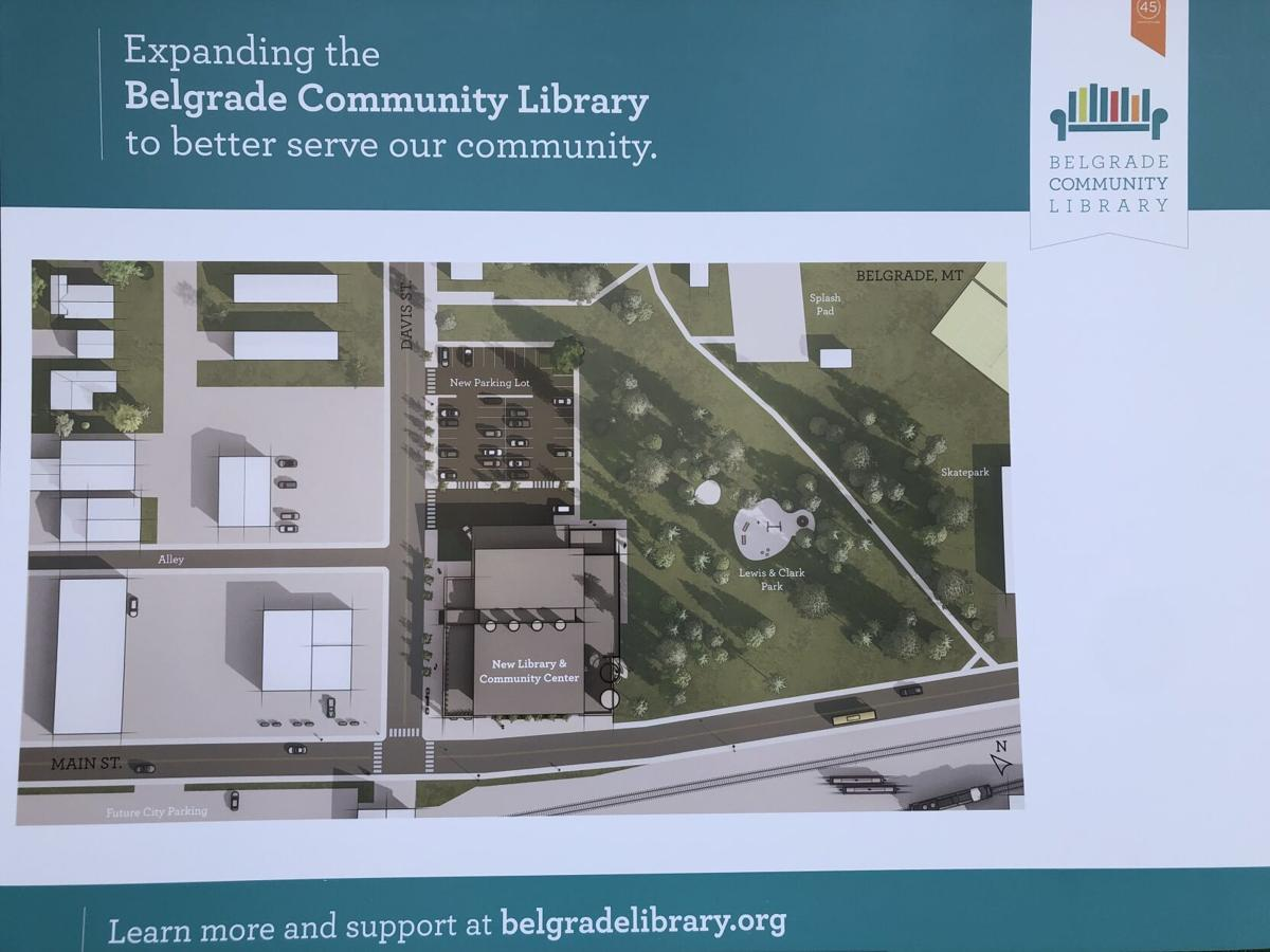 Belgrade Community Library plans for new location
