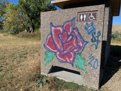 Flathead County woman charged for vandalizing public property