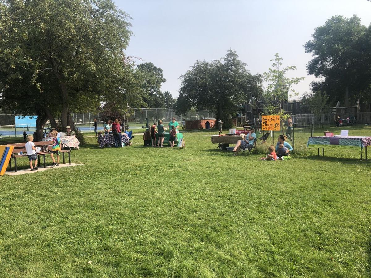 Park County homeschool resource fair helps families in need