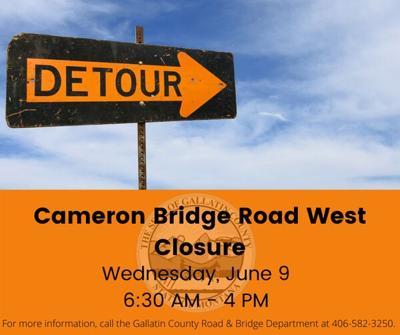 Cameron Bridge Road closure planned for June 9