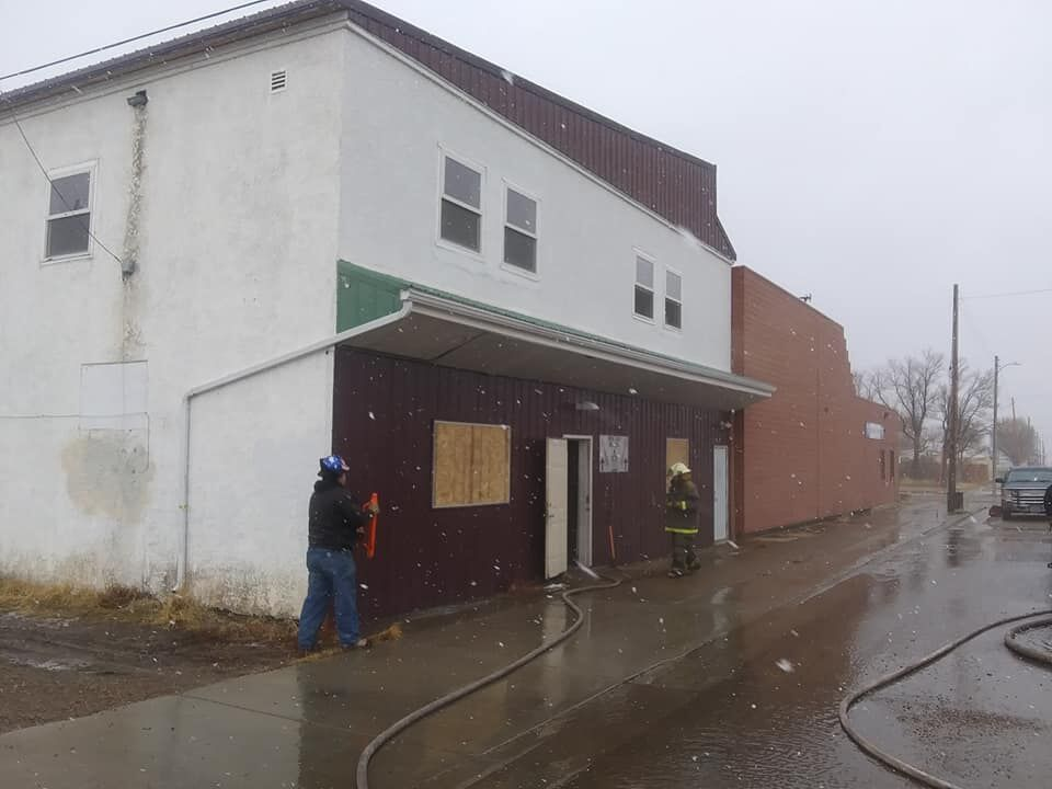 Crews put out fire at New Life Mission in Poplar