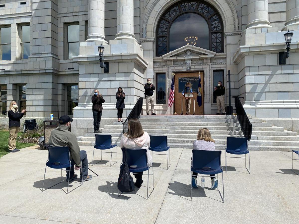 """Missoula Co. declares May 22 """"Wade Palmer Day"""", honoring the state trooper"""