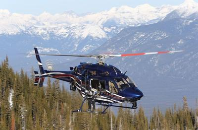 Two Bear Air helicopter air ambulance rescue montana