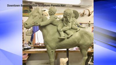 Glendive sculptor seeking donations for creation of downtown sculpture