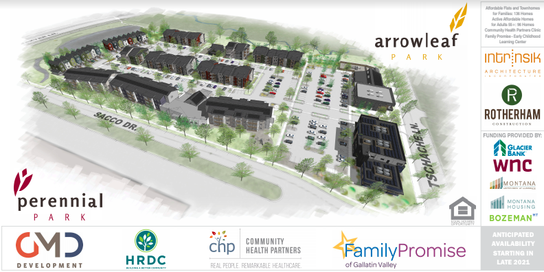 Groundbreaking on new community development with affordable housing, childcare center and medical clinic